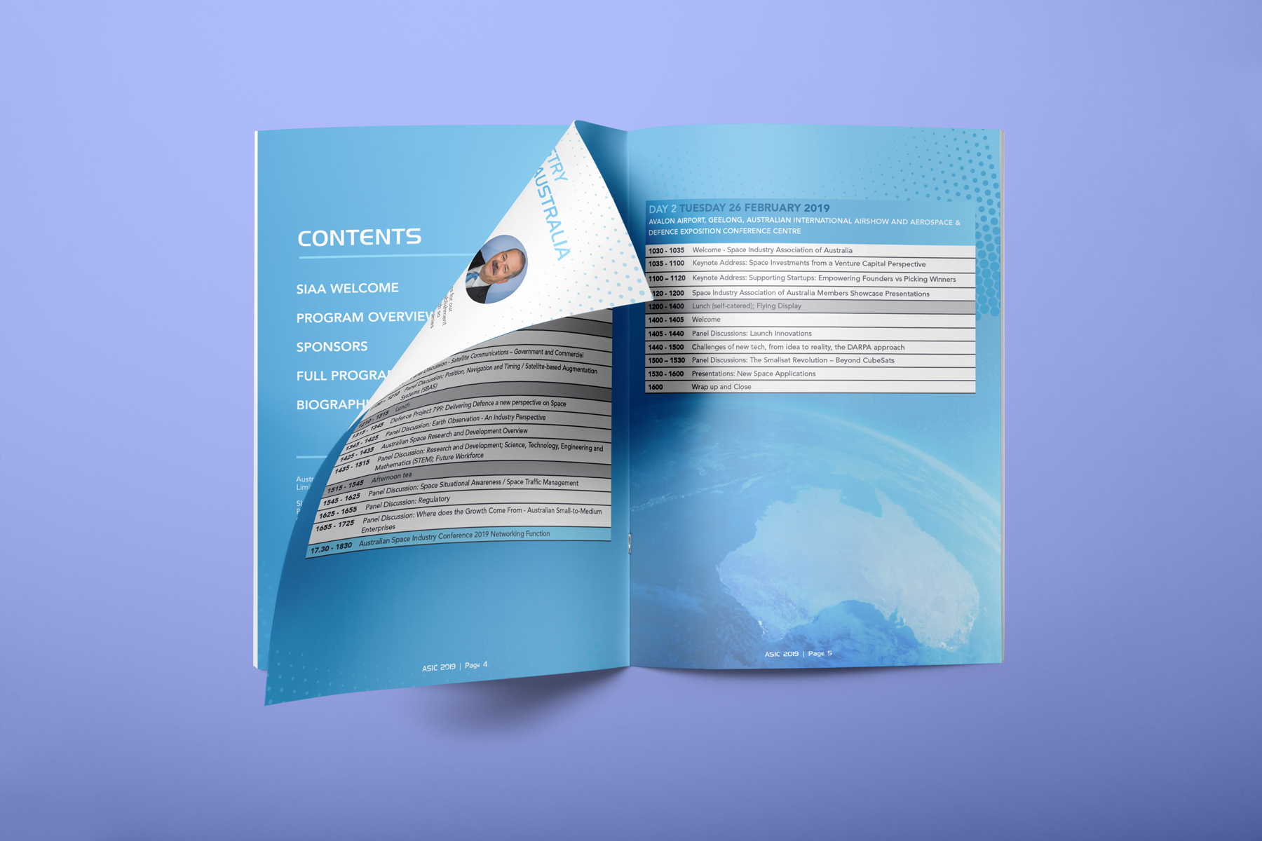 A5 Saddle Stitched Conference Handbooks