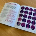 A5 Size Saddle Stitched Booklet Brisbane Festival Inside Pages Spread