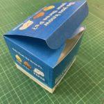 Assembled Folded Scored Box Custom Packaging