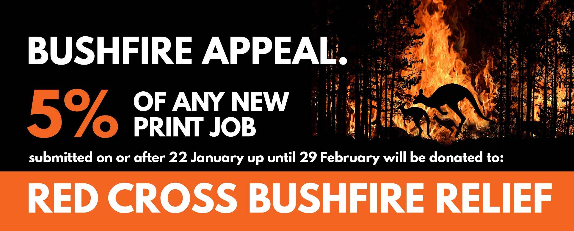 Bushfire appeal Rogue Print