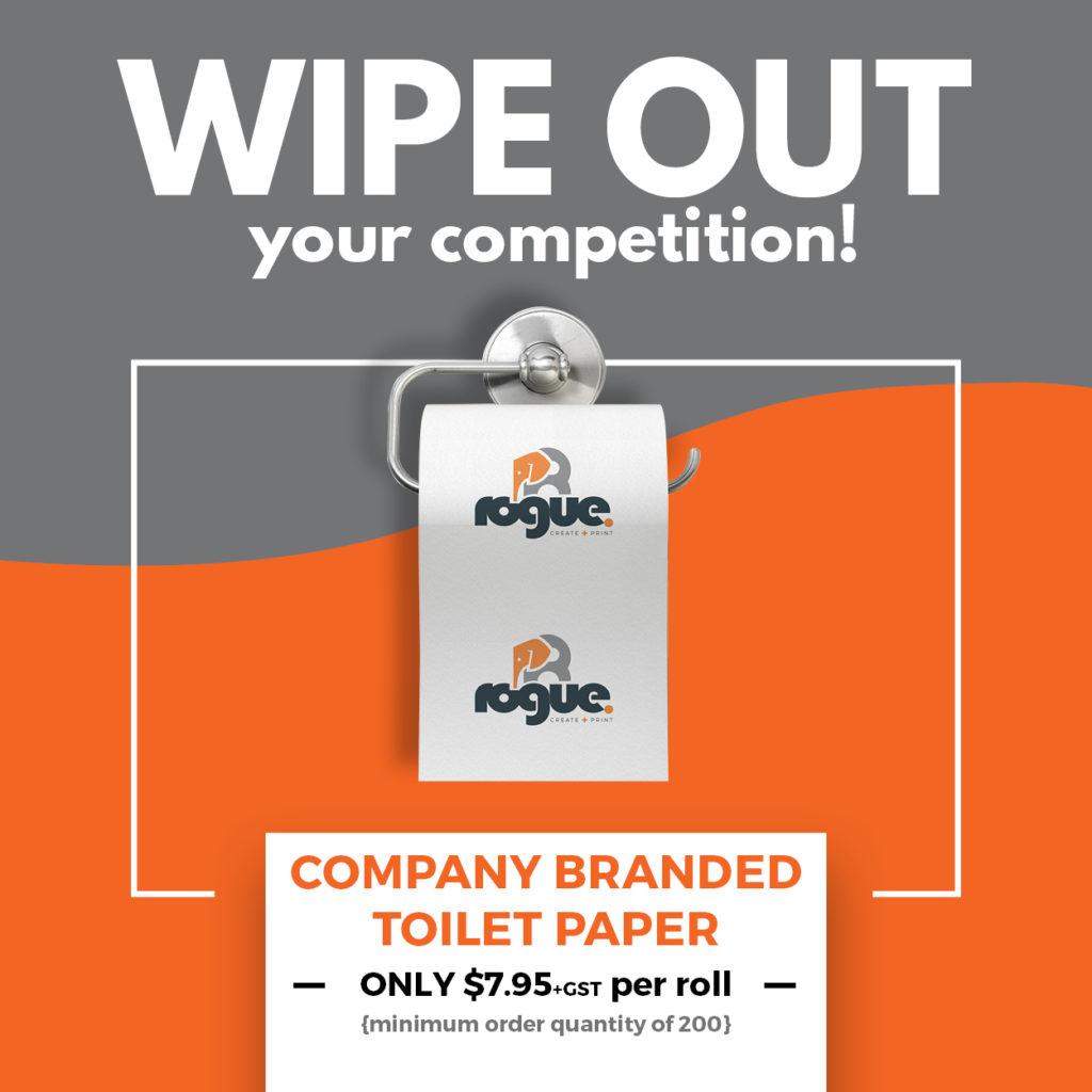 Branded Toilet Paper