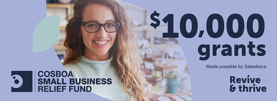 Cosba Small Business Grant | Rogue Print and Web Design Grants