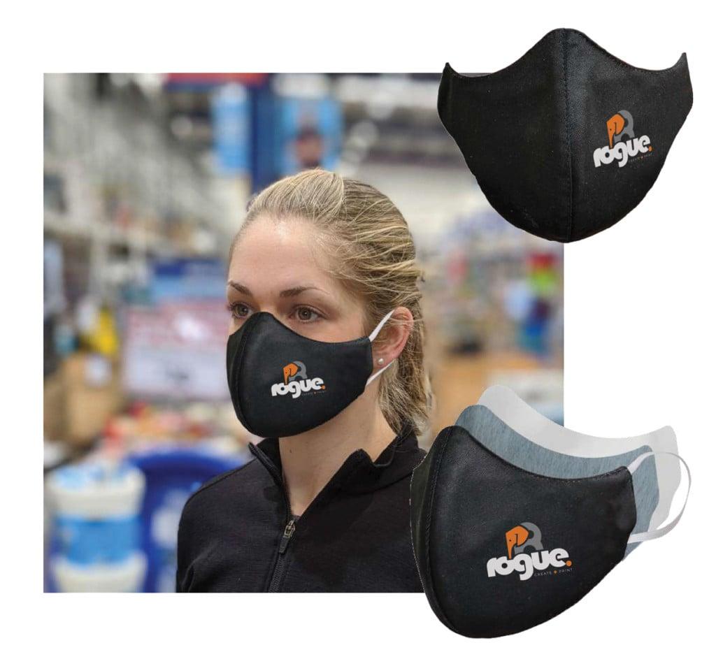 Custom Branded Face Masks Reusable Durable Fabric Masks Covid19