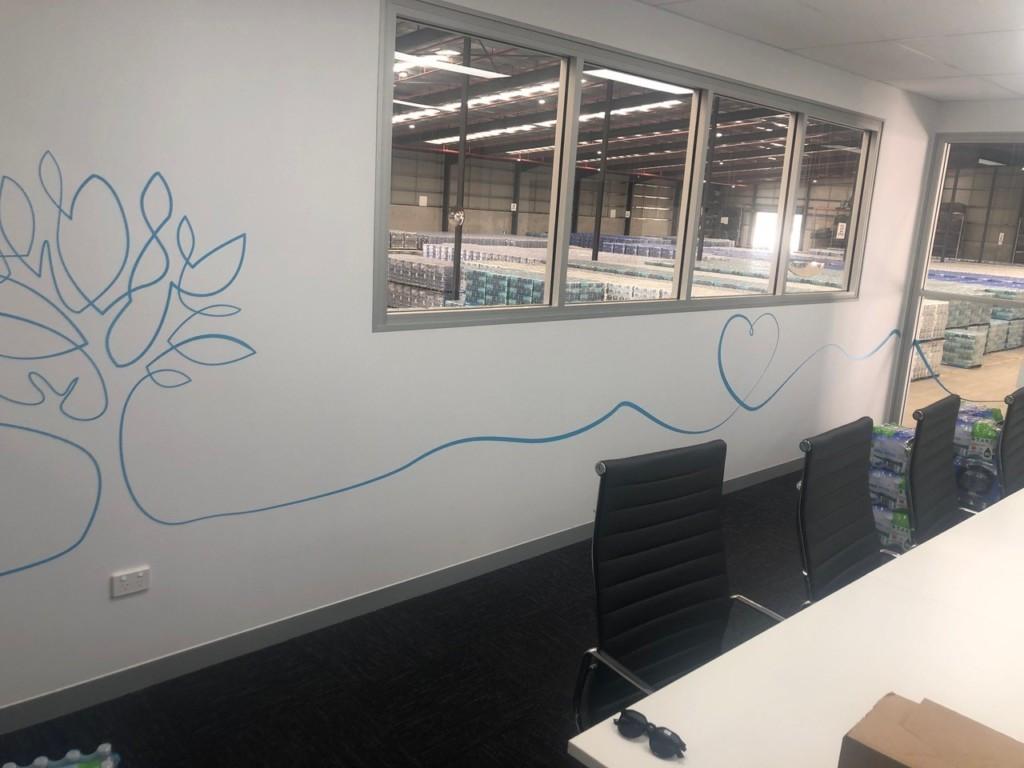 Custom Vinyl Wall Wrap Vinyl Sticker Decals For Board Room Office Nupure