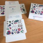Custom packaging for school products custom diecut