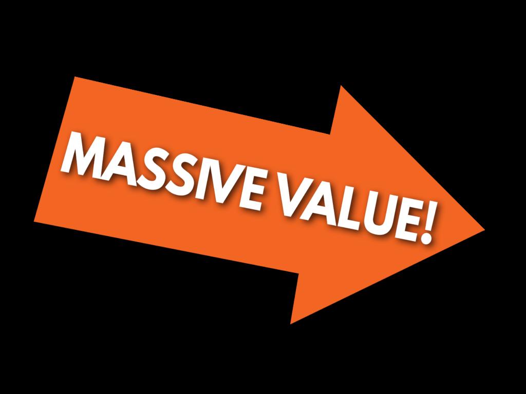 Massive Value Arrow