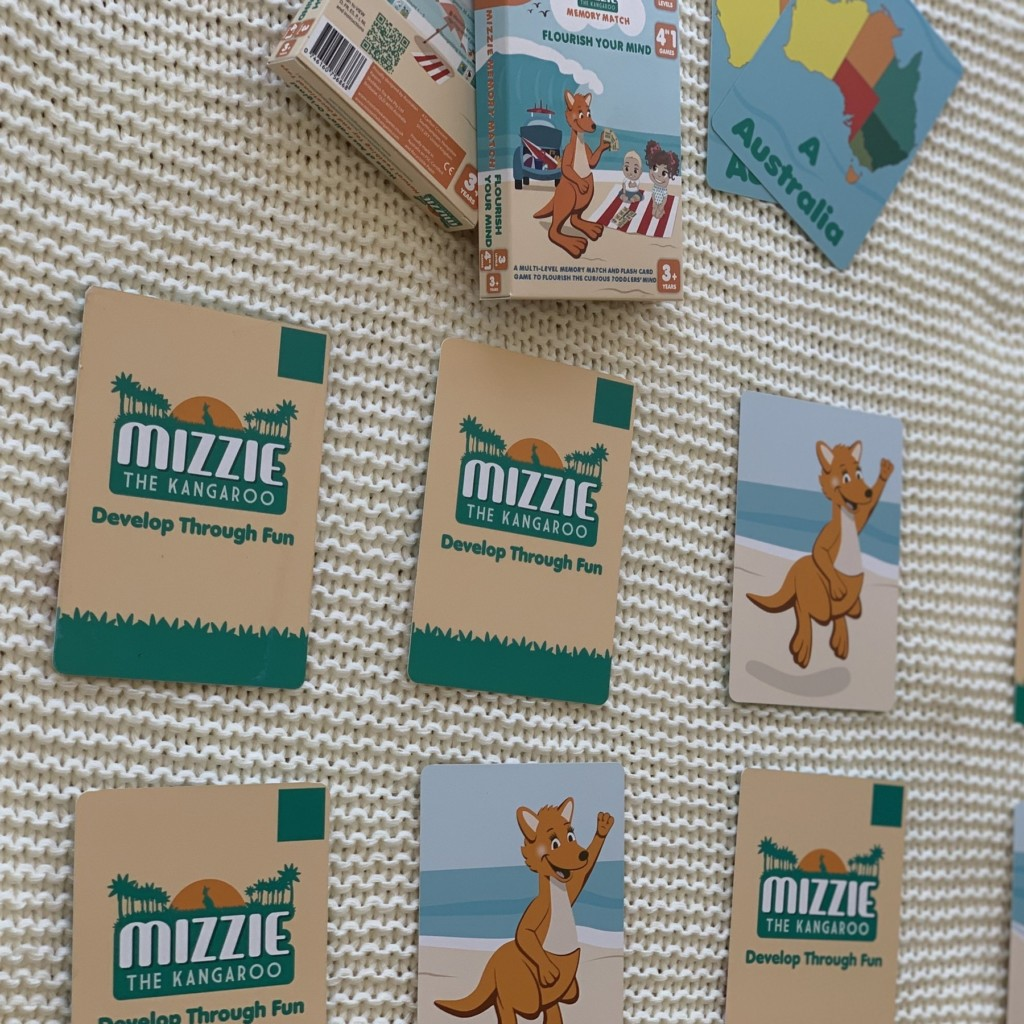 Mizzie The Kangaroo Flash Memory Cards Produced By Rogue Print And Mail