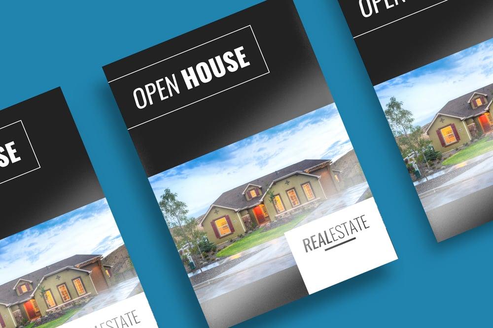 Real Estate Print A4 Brochures