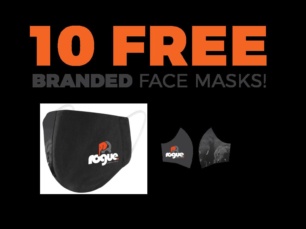 Free Face Masks Offer