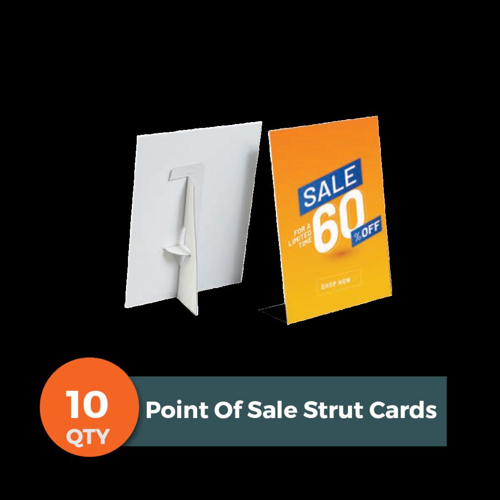 Saleicons Strut Cards