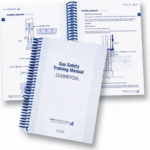 Safety Training Manual plastic spiral bound