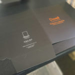 Presentation Folder with gold foil