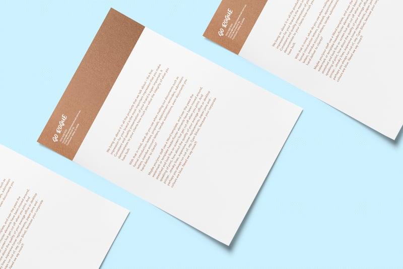 Rogue Letterhead Printing